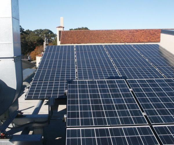 Urban School Solar Power